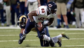 Martellus Bennett in action
